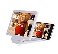 cwxuan ™ портативный мобильный телефон экран лупы для iphone 8 галактики s8 5 5s 6 плюс samsung s4 / 5 htc и другие