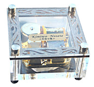 Alec Transparent Music Box/Crystal Music Box