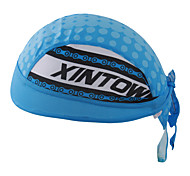 XINTOWN Headband Outdoor Wear Sports Polyester Bike Cap Hat Cycling Breathable Mens and Womens Riding Cap Blue