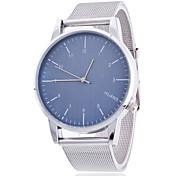 Unisex Wrist watch Quartz Alloy Band Silver
