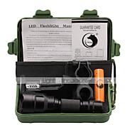 U'King ZQ-X1000#1 Cree XM-L T6 LED 1000 Lumens 3 Mode 18650 Adjustable Focus Nonslip grip Flashlight EmergencyCamping/Hiking/Caving