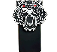 For iPhone 7 7 Plus 6S 6Plus Case Cover Tiger Head Pattern Oil Surface PC Phone Cover