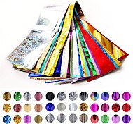 20pcs/lot  Nail Star Paper 4 * 120 Cm Bag Random Color