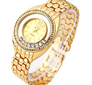 Women's Fashion Watch Bracelet Watch Digital Alloy Rose Gold Plated Band Silver Gold