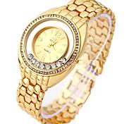 Women's Fashion Watch Bracelet Watch Digital Alloy Band Silver Gold Brand
