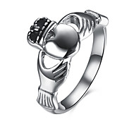 Ring Stainless Steel Titanium Steel Fashion Silver Jewelry Daily Casual 1pc