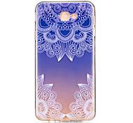 For Samsung Galaxy J7 Prime J5 Prime J710 J510 J5  J310 J3  TPU Material Blue Gradient Pattern Painting Phone Case