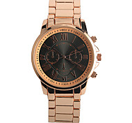 Men's Fashion Watch Quartz / Alloy Band Casual Rose Gold Brand