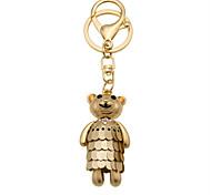 Creative diamond cute bear Keychain car gift bag ornaments