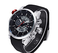 Men's Sport Watch Military Watch Dress Watch Fashion Watch Wrist watch Digital Watch Calendar Stopwatch Quartz Digital Genuine Leather