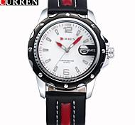 CURREN 8104 Relogio Masculino Fashion Men Sports Watches Men's Quartz Hour Date Clock Mens Watches Top Brand Luxury Wrist Watch