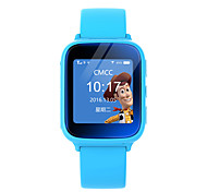 LEKEMI Sem Fio Outros Kids Children GPS Tracker Watch Smartwatch with Live tracking, SOS Call, Google Map and Geofence Alarm Azul Rosa