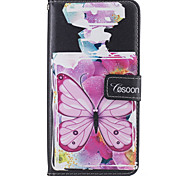 For Apple iphone7 iphone7 Plus iphone6s iphone6s Plus iphone6 iphone6 Plus The Perfume Bottles Butterfly Pattern PU Leather Case