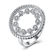 Wholesale 925 Jewelry Silver Plated RingSilver Plated Fashion RingFashion Inlaid Stone Finger Rings
