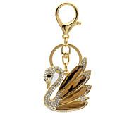 Diamond diamond Swan Keychain