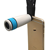 New 8x18 High Power Mini Clip Mobile Phone Monocular Telescope Lens for Iphone Samsung Ipad Etc