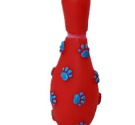 Cat Toy Dog Toy Pet Toys Chew Toy Elastic Red Blue Pink Rubber