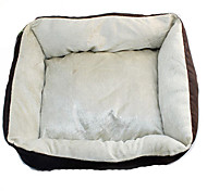 Dog Bed Pet Blankets Breathable Brown Cotton