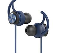 GEVO HIFI Sport Earphones Stereo Bass Noise Cancelling Ergonomic In-Ear Earphone with Mic and Earhook for SmartPhones(Blue)