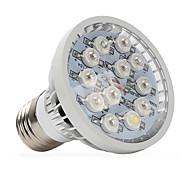 12W E14 GU10 E27 Luz de LED para Estufas 12 LED de Alta Potência 290-330 lm Branco Quente Vermelho Azul UV (Luz Negra) V 1 pç