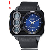 Men's Women's Unisex Sport Watch Military Watch Fashion Watch Wrist watch Digital Watch Quartz Digital Genuine Leather Band Casual