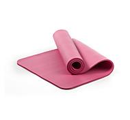 НБР Йога коврики Экологию Без запаха 10 мм Розовый Синий Зеленый Фиолетовый