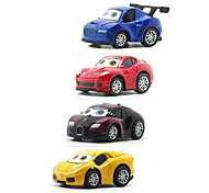 Race Car Vehicle Playsets Car Toys 1:64 Metal Plastic Rainbow Model & Building Toy