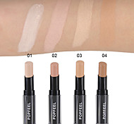 1Pcs Popfeel Lip Foundation Stick Eye Concealer Makeup Concealer Stick Perfect Concealer Stick Face Primer Base Natural