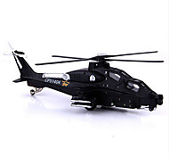 Planes & Helicopter Toys Car Toys 1:50 Metal Plastic Black Model & Building Toy