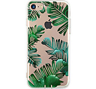Pour Ultrafine Motif Coque Coque Arrière Coque Arbre Flexible PUT pour Apple iPhone 7 Plus iPhone 7 iPhone 6s Plus/6 Plus iPhone 6s/6