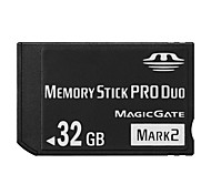 32GB High Speed Black MS Memory Stick Pro Duo Card Storage for Sony PSP 1000/2000/3000 Game Console