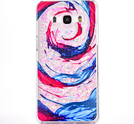 For Samsung Galaxy G530 Case Cover Waves Pattern Small Fresh Series PC Material Love Quicksand Flash Powder Phone Case