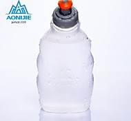 Frosted Sports Outdoor Drinkware, 250 ml Squeezing Portable Leak-proof Polypropylene Juice Water Water Bottle