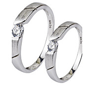 Ring Jewelry Sterling Silver Simulated Diamond Silver Jewelry Party Daily 1pc