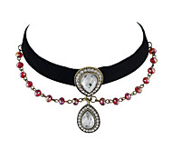 Black Color  Choker Necklaces For Women