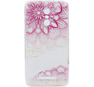 For Hongmi Note 3  3S phone Case Pink World Lace Embossed Pattern TPU Material High Penetration