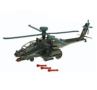 Planes & Helicopter Toys Car Toys 1:72 Metal ABS Plastic Green Model & Building Toy