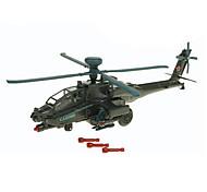Aeroplanino e elicottero Giocattoli Giocattoli Car 1:72 Metallo ABS Plastica Verde Modellino e gioco di costruzione