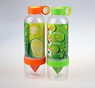 800ml Transparent Infuser Water Bottle Lemon Bottle