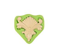 Барокко vintage торт границы помадка силиконовая форма конфеты пасты украшение формы цвет случайный