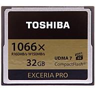 Toshiba 32GB Compact Flash  CF Card cartão de memória EXCERIA Pro 1066X VPG-65