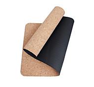 TPE Йога коврики Экологию Без запаха 5 мм Черный Other