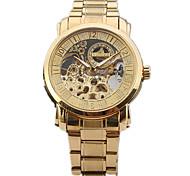 Men's Unisex Sport Watch Dress Watch Fashion Watch Wrist watch Mechanical Watch Hollow Engraving Large Dial Swiss DesignerAutomatic