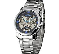 Hombre Unisex Reloj Deportivo Reloj de Vestir Reloj de Moda Reloj de Pulsera El reloj mecánico Cuerda Automática Aleación BandaEncanto