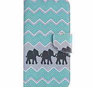 For Google Pixel XL Pixel Case Cover Three Elephants Painted PU Phone Case
