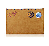 """Sleeve for Macbook Air 13"""" Macbook Pro 13"""" Solid Color PU Leather Material Simple Leisure Retro Envelope Style Notebook Bag Universal"""