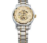 Men's Women's Unisex Sport Watch Dress Watch Fashion Watch Wrist watch Mechanical Watch Automatic self-winding Alloy Band Charm Casual