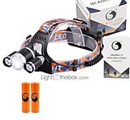 U'King Налобные фонари LED 6000 Люмен 3 4.0 Режим Cree XM-L T6 Да Фокусировка Компактный размер Простота транспортировки для