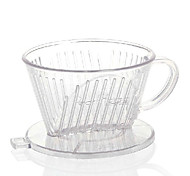 ml  Acrylic Coffee Filter , 4 cups Drip Coffee Maker Reusable Manual