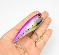 1 pc Popper Colori casuali 0.0075 g Oncia mm pollice,Plastica Pesca dilettantistica